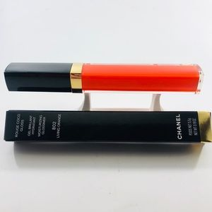 Chanel Rouge Coco Gloss 802 Living Orange